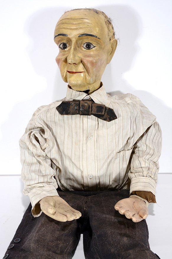 Ventriloquist Dummy Old Man. - 2