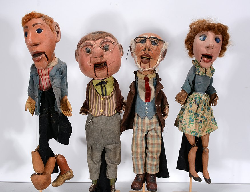 Anonymous Four Marionette Puppets