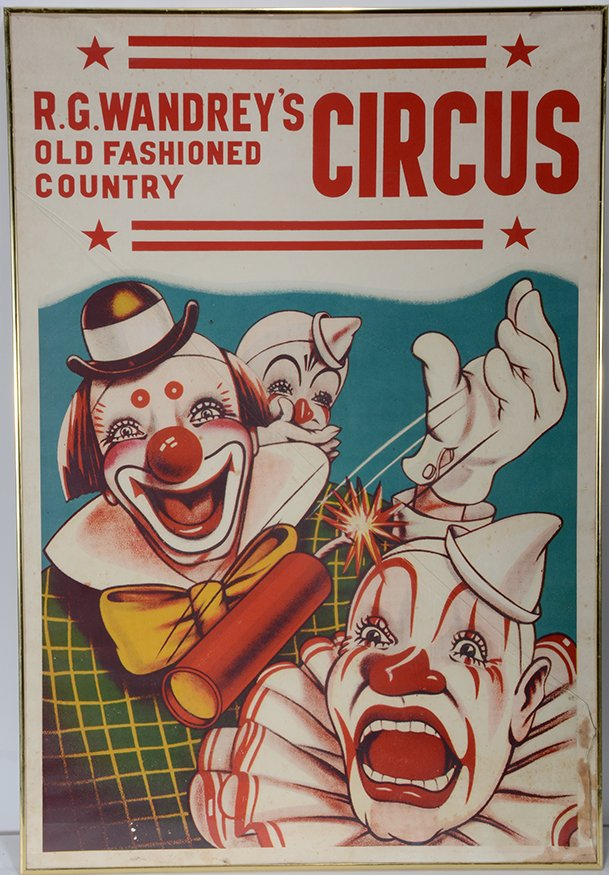 R.G. Wandrey Old Fashion Country Circus Poster.