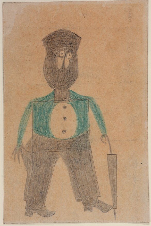 Bill Traylor. Preacher...Hat...Beard...Cheeks.