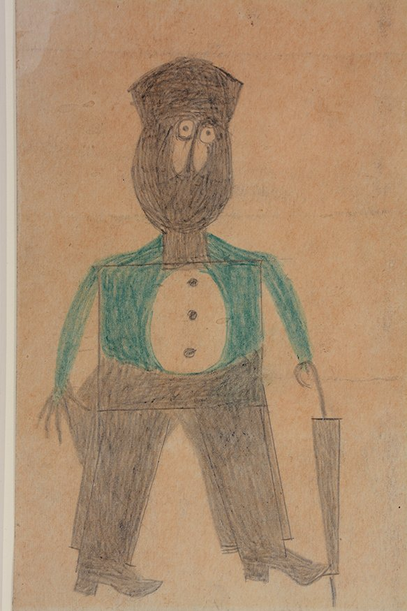 Bill Traylor. Preacher...Hat...Beard...Cheeks. - 6