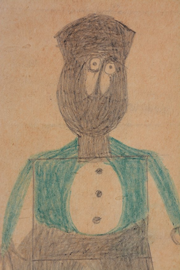 Bill Traylor. Preacher...Hat...Beard...Cheeks. - 7