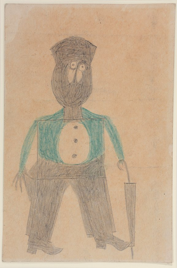 Bill Traylor. Preacher...Hat...Beard...Cheeks. - 8