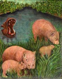 Ellis Ruley. Hippos.