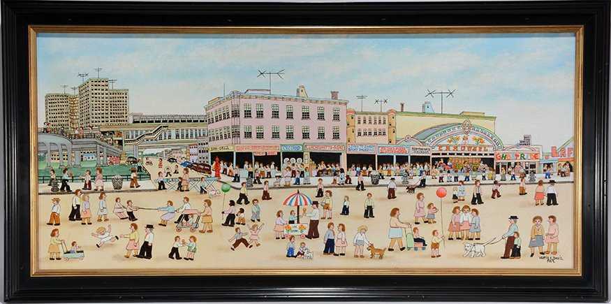 Vestie Davis. Coney Island.
