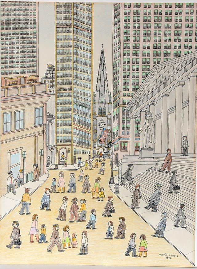 Vestie Davis. Wall Street. - 2