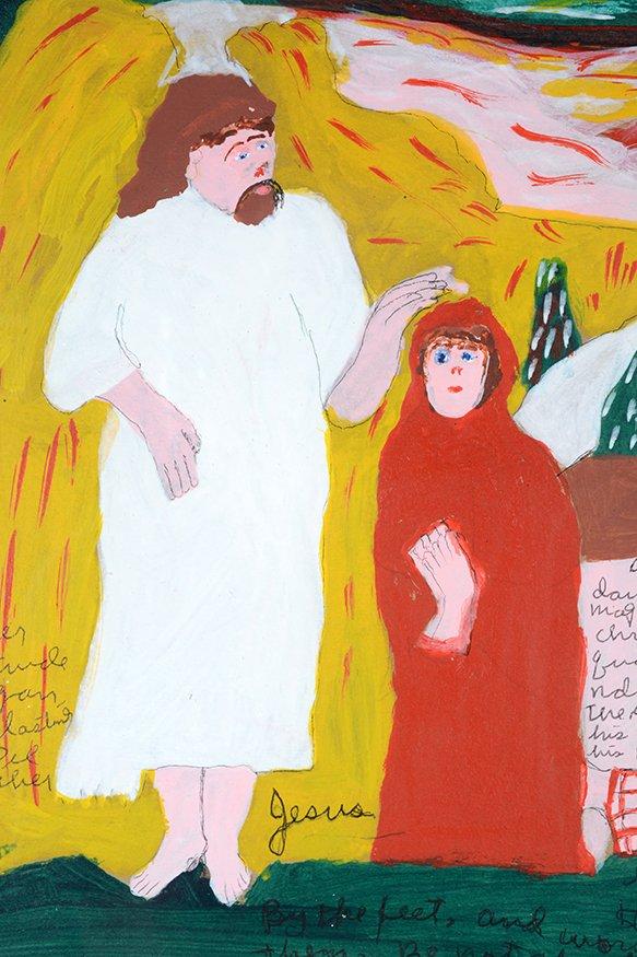 Sister Gertrude Morgan. Mary & Martha Encounter The - 4