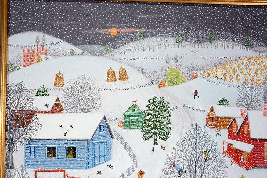Mattie Lou O'Kelley. Snowy Farm. - 5