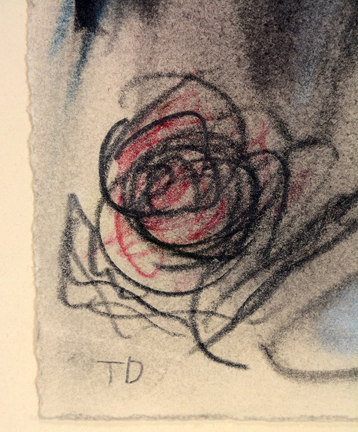 Thornton Dial. Lady With A Rose. - 4