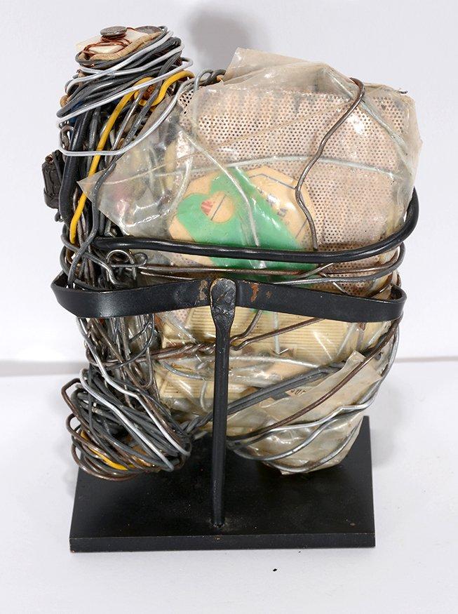 Philadelphia Wireman. Mixed Media Sculpture. - 2