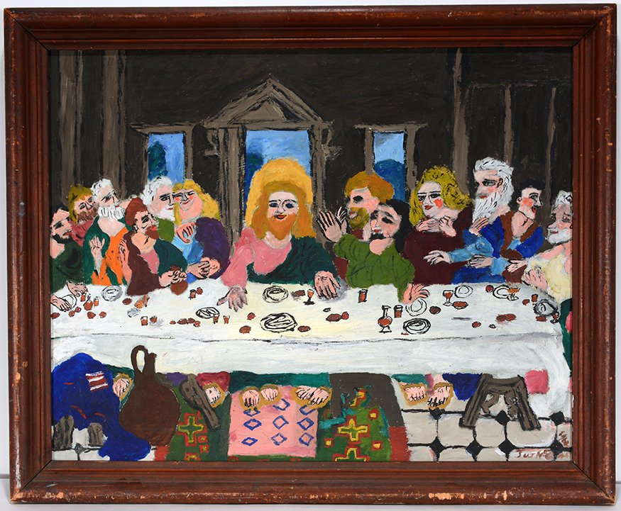 Justin McCarthy Last Supper.