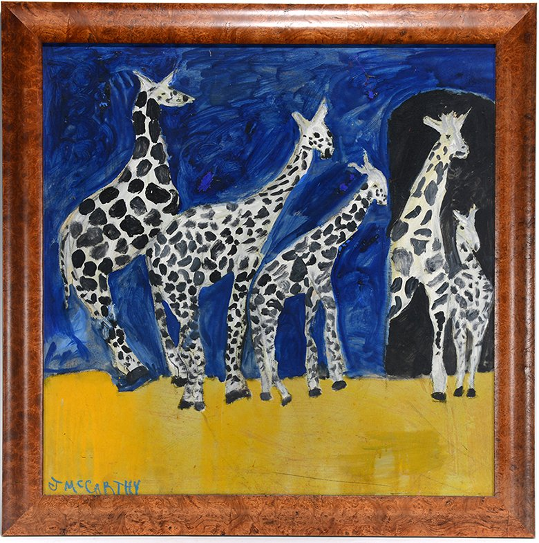 Justin McCarthy. Family Of Giraffes.