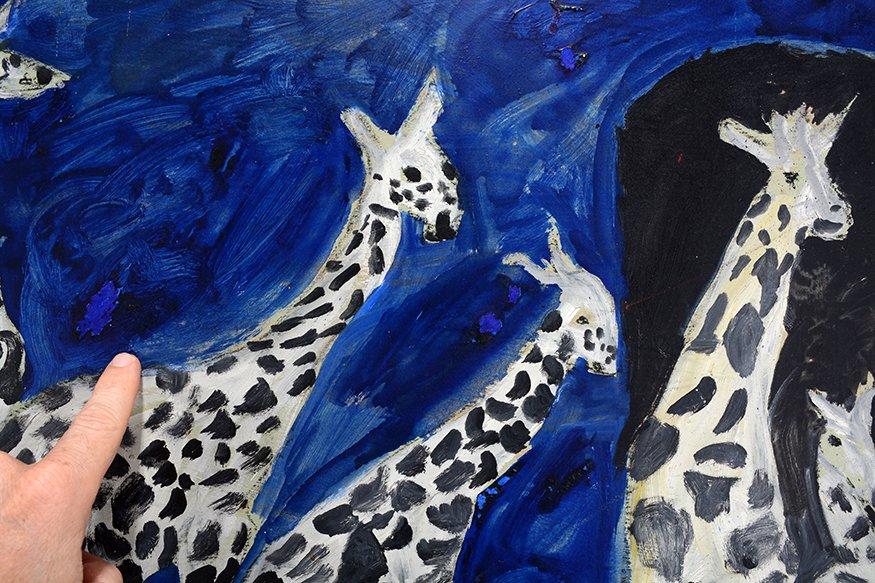 Justin McCarthy. Family Of Giraffes. - 3