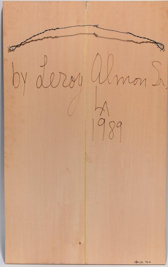 Leroy Almon. Hel Wood-Relief Plaque. - 4
