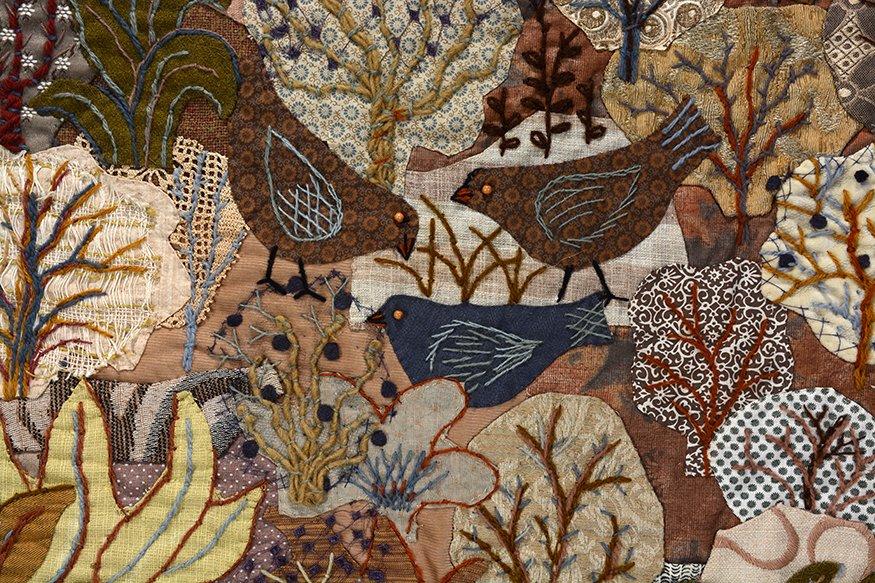 Martha Wood. Rabbit, Cat and Bird In Dessert Thread - 3