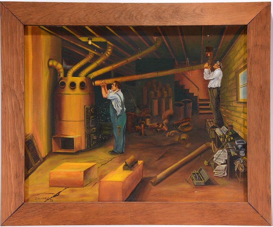 John Niro. The Furnace Installers.