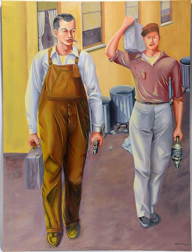 John Niro. Riveters Going To Work
