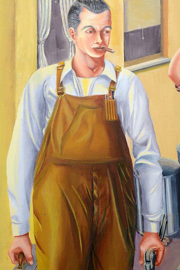 John Niro. Riveters Going To Work - 3