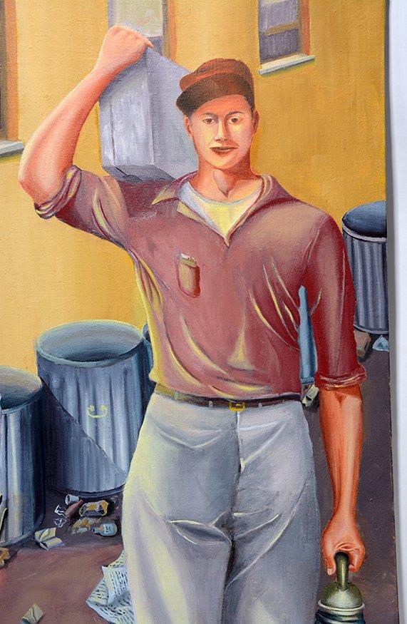 John Niro. Riveters Going To Work - 4