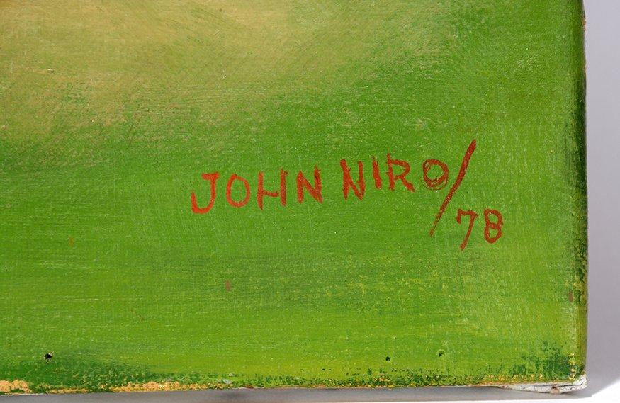 John Niro. Retirees At The Park. - 2