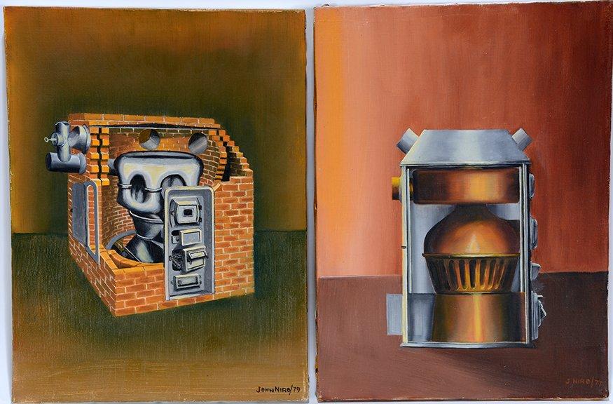 John Niro. Pipeless Furnace And Steel Warm Air