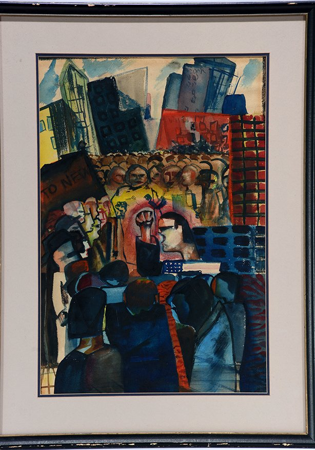 Simon Ross. New York City Protest. - 2