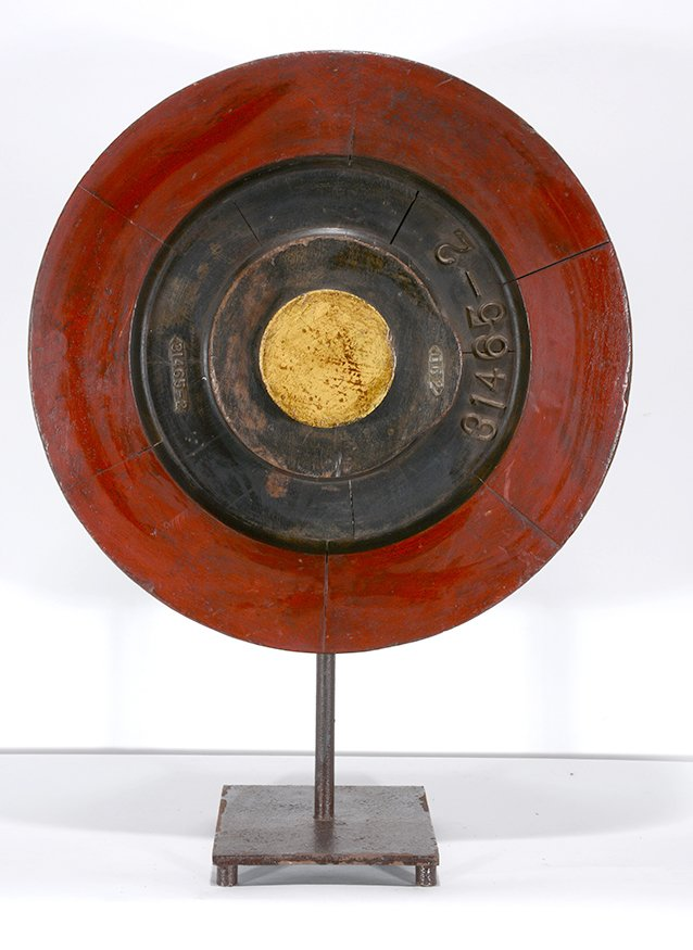 Industrial Art. 31465-2 Wheel On Stand.