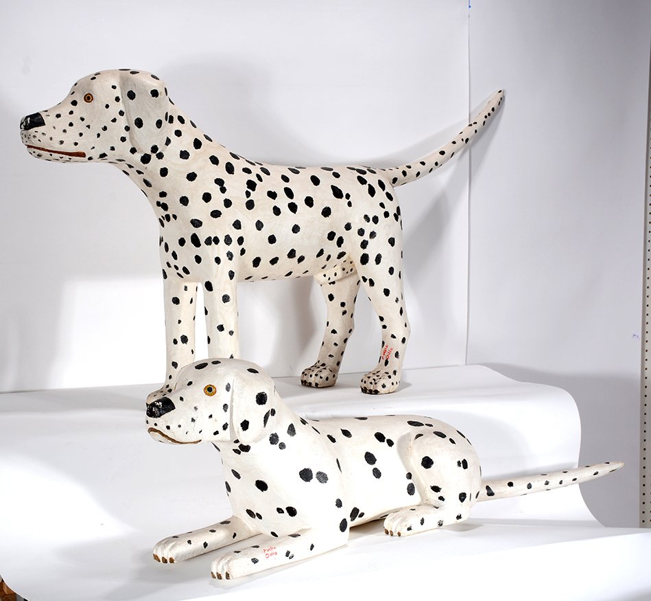 Pucho Odio. Pair of Dalmatians.