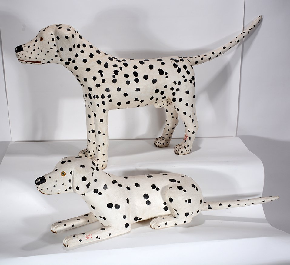 Pucho Odio. Pair of Dalmatians. - 2