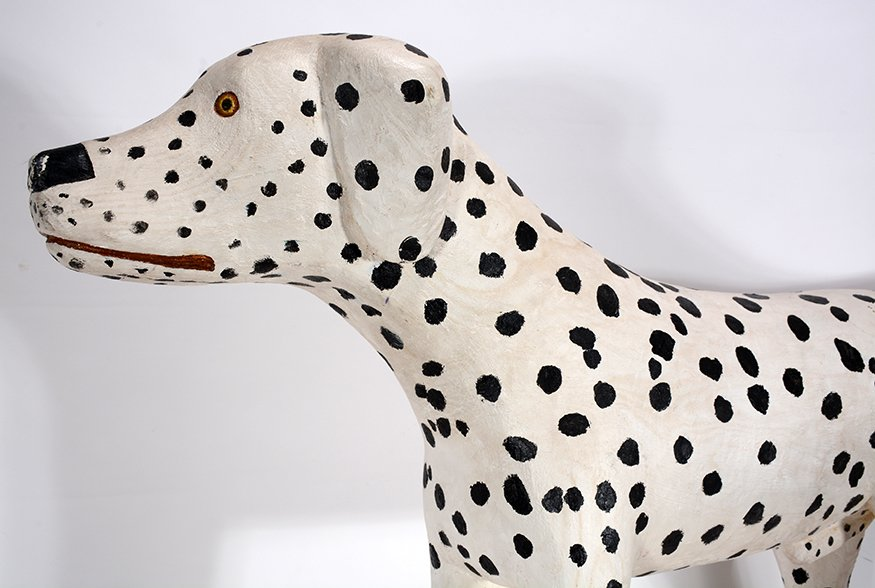 Pucho Odio. Pair of Dalmatians. - 4