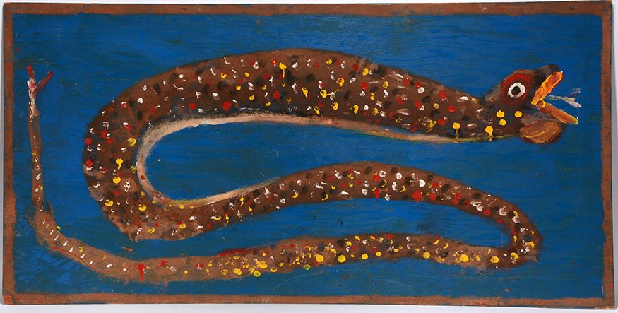 Jimmy Lee Sudduth. Big Snake.