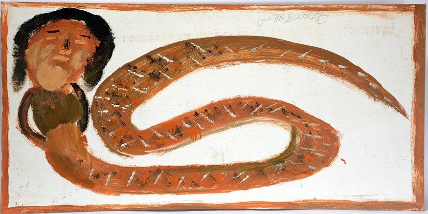 Jimmy Lee Sudduth. Snake Woman.