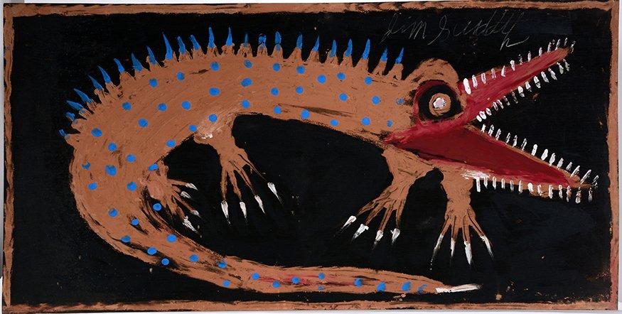 Jimmy Lee Sudduth. Gator.