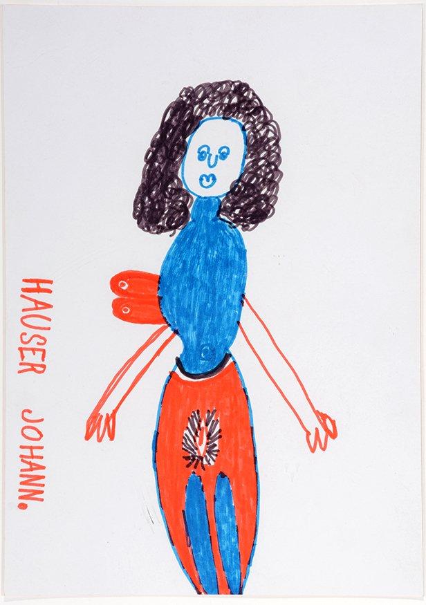Johann Hauser. Untitled Girl.