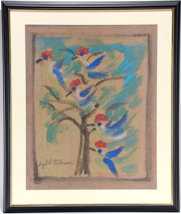 Sybil Gibson. Five Blue Bird.