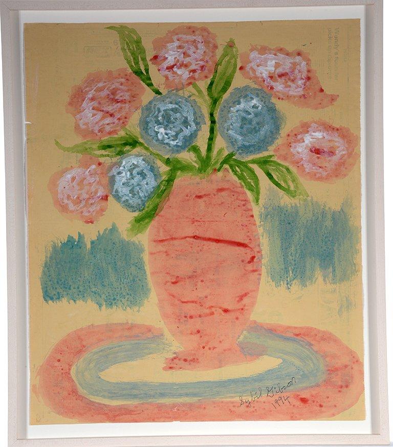 Sybil Gibson. Hydrangeas.