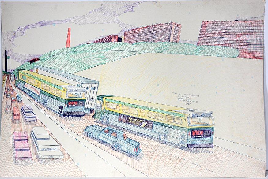 Wesley Willis. The Dan Ryan Expressway.