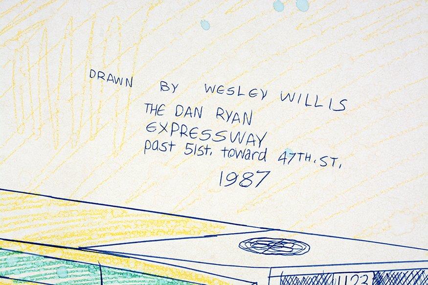 Wesley Willis. The Dan Ryan Expressway. - 2