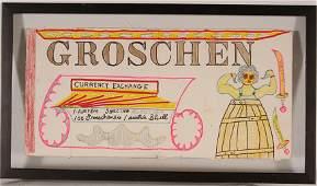 Lewis Smith. Groschen.
