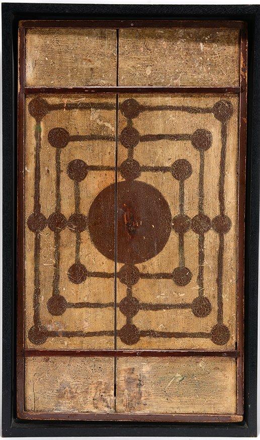 American Mills Gameboard, c. 1910-20.