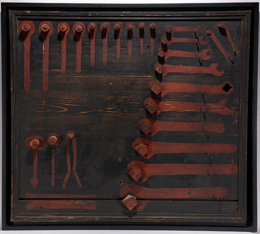 American Unidentified Tool Board. c. 1930-40