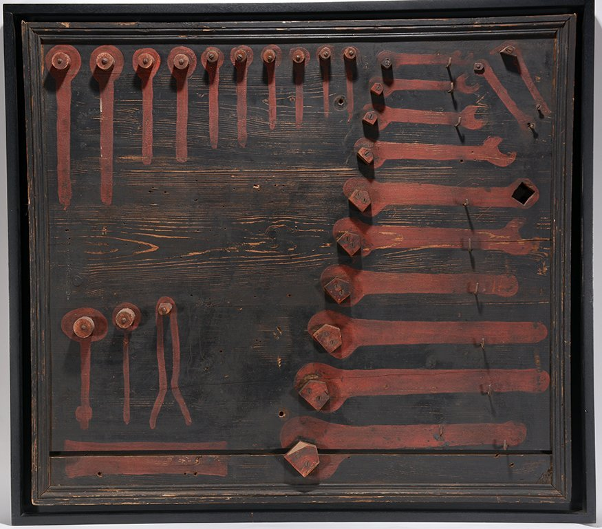 American Unidentified Tool Board. c. 1930-40 - 2