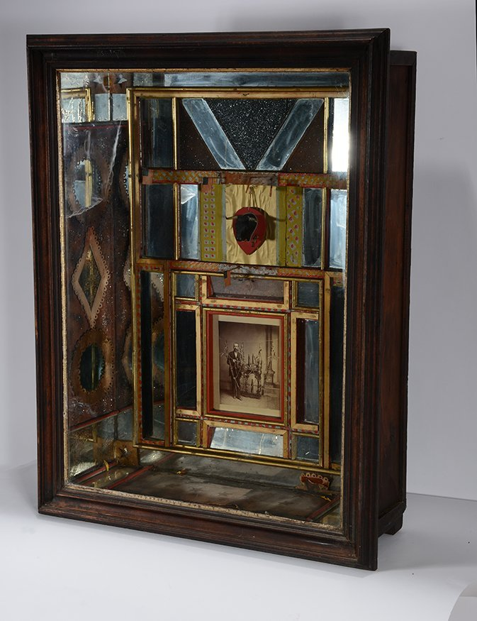 G.W. Knox. Curio Cabinet. - 2