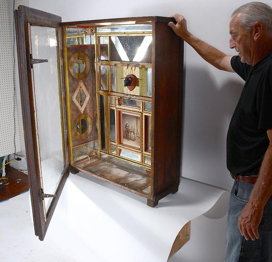G.W. Knox. Curio Cabinet. - 4