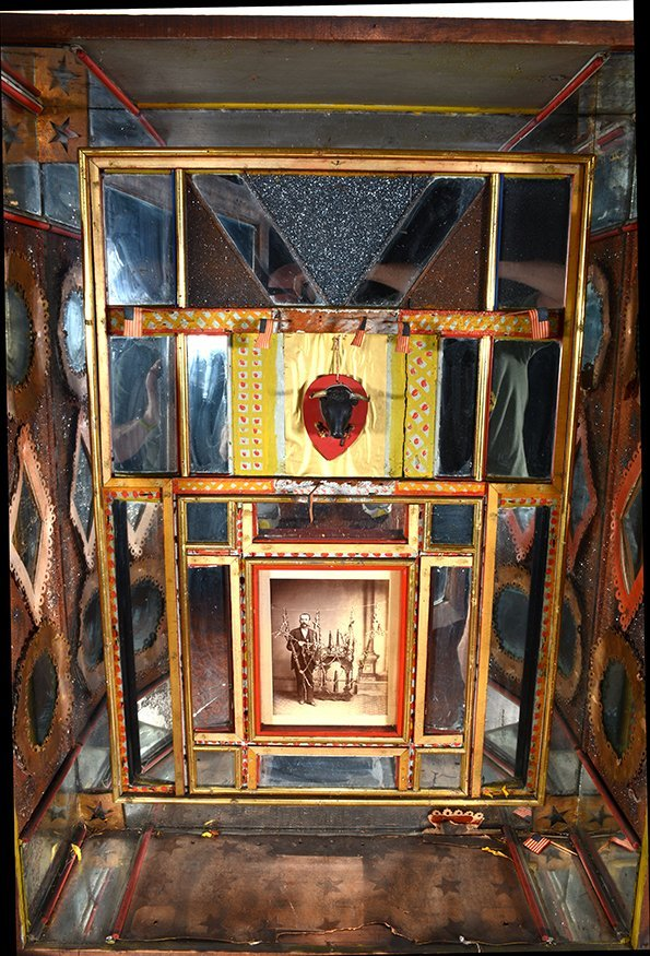 G.W. Knox. Curio Cabinet. - 6