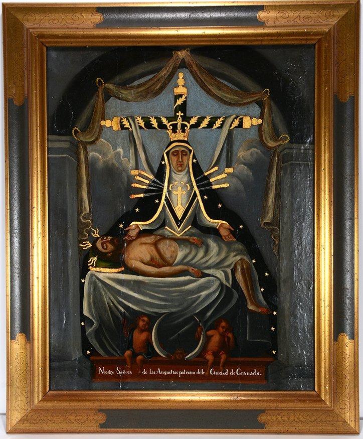 Religious Santo Nuestra Senora. c. 1800's.