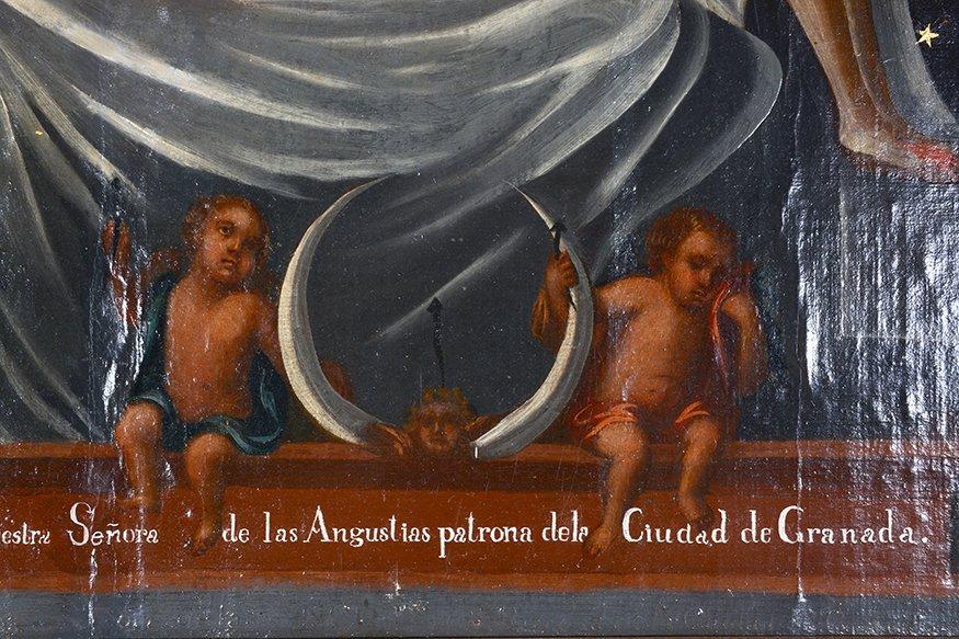 Religious Santo Nuestra Senora. c. 1800's. - 4