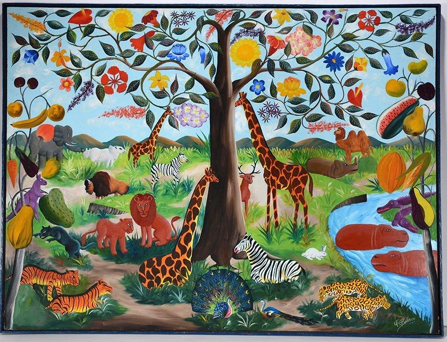 F. Pierre. Animal Jungle.
