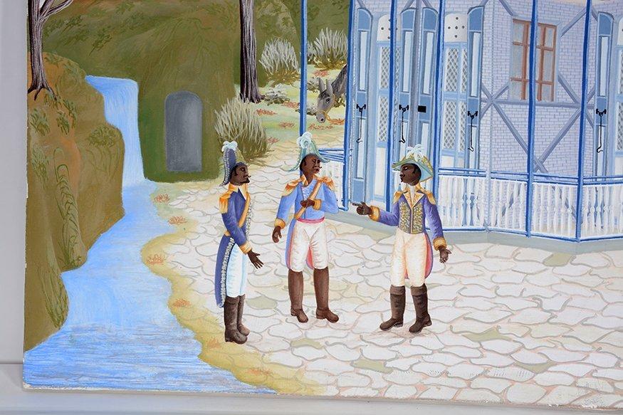 Jean Batiste St. Flourant. Dignataries. - 3