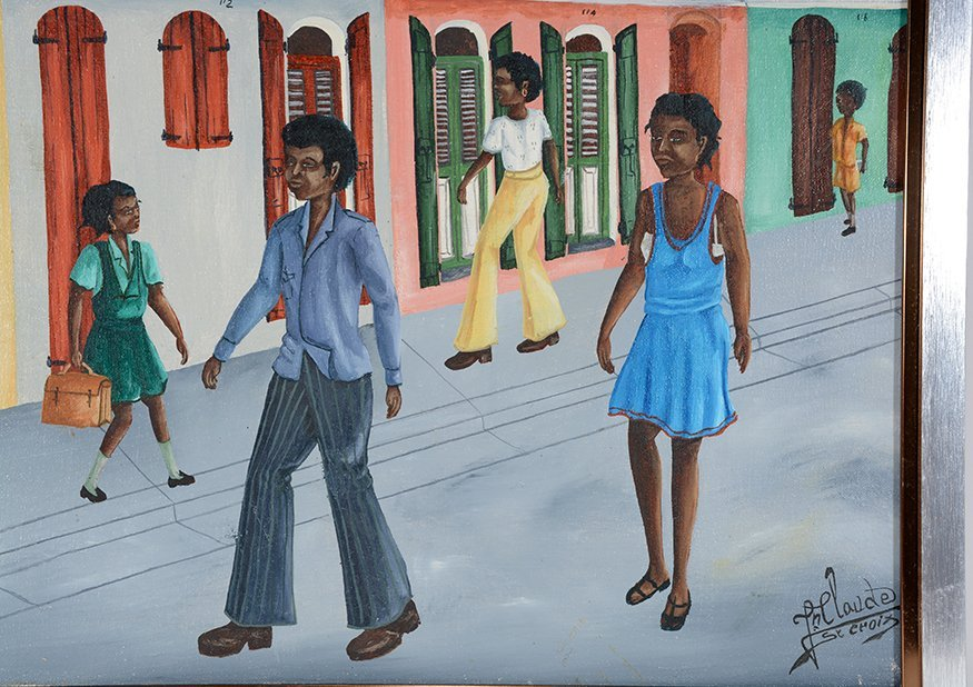 Jean Claude St. Croix. Street Scene. - 2